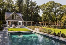 Pool House Hilltop Gambrel Pool House Lda Architecture And Interiors