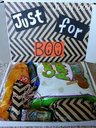 Halloween Gift Baskets For Adults by Just For Boo A Halloween Care Package Cheer Halloween Care