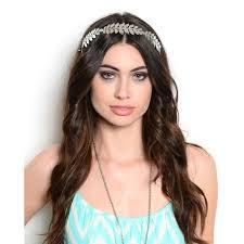 grecian headband accessories grecian metal leaf headband gold or silver poshmark