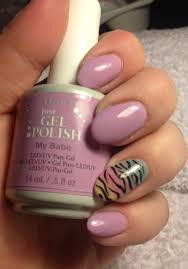 ibd just gel polish using u0027my u0027 and ombré nail with zebra
