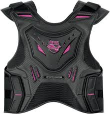 motorcycle vest womens icon black and pink field armor stryker motorcycle vest ebay