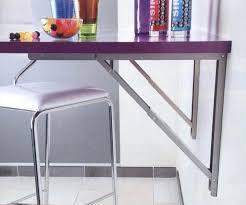 table rabattable cuisine murale les supports de table rabattables