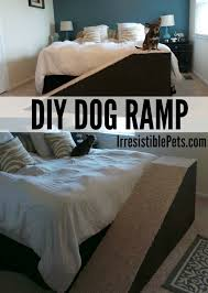 How To Build A End Table Dog Crate by Diy Dog Ramp Irresistible Pets Dog Ramp Diy Dog And Dog