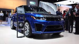 range rover diesel engine 2018 range rover sport debuts plug in hybrid more powerful svr