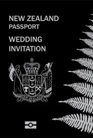 wedding invitations new zealand which passport wedding invitations should you order decisions