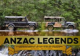 land rover australian anzac legends the land rover perentie unsealed 4x4