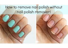 3 ways to remove nail polish without nail polish remover viki