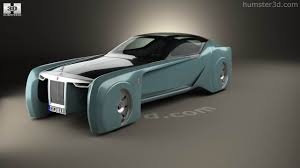 rolls royce vision 100 360 view of rolls royce 103ex vision next 100 2016 3d model