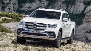mercedes pickup 2018 mercedes benz x class pickup line power color bering white