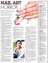 nail art horror the straits times 15 october 2010 pg 18