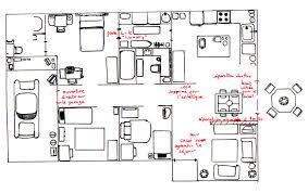 plan maison cuisine ouverte maison américaine plan fashion designs