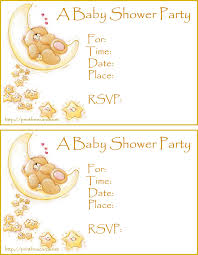 free baby shower invitations free printable baby shower cards