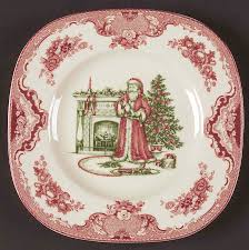 johnson bros britain castles santa plate johnson