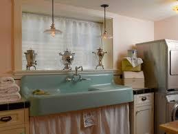 Best Drainboard Sinks Images On Pinterest Farmhouse Kitchens - Retro kitchen sink