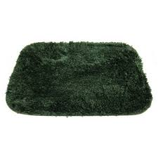 high line luxury microfiber bath rug hunter green 17x24 polyvore