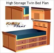 21 perfect captains bed woodworking plans egorlin com