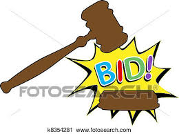 bid auction clipart of bid to buy auction gavel icon k8354281 search
