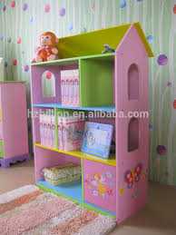 Kids Dollhouse Bookcase Fashion And Lovely Fariy Wooden Kids Dollhouse Bookcase Bedroom