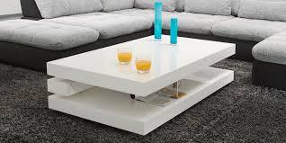 Couchtisch Weiss Design Ideen Couchtisch Hochglanz Weiß Grau Designer Couchtisch Beistelltisch