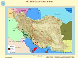Gas Map The Upstream Oil And Gas Industry In Iran
