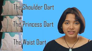 dress pattern without darts diy pattern manipulation tutorial darts youtube
