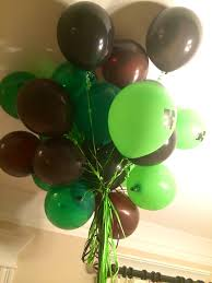 minecraft balloons black brown green lime green balloons minecraft colors jaxon s