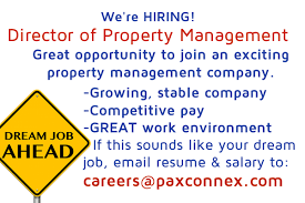 Resume For Property Management Job by Minneapolis Property Management Recruiter Pax Connex
