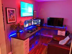 Gaming Desk Setup by Battlestation V2 Item Links In Description Desk Setup Desks