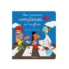 si e auto comptine livre mes premières comptines en anglais pour enfant de 1 an à 3 ans