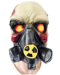 toxic skull gas mask rubber johnnies masks