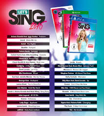 karaoke xbox one let s sing 2016 coming to xbox one