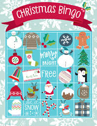 printable christmas bingo cards pictures printable christmas games blue mountain