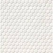 msi penny round porcelain mosaic tile in glossy white  reviews  with msi penny round porcelain mosaic tile in glossy white  reviews  wayfair from wayfaircom