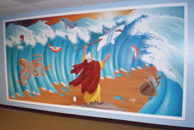 children bible stories room designs bible story murals a tour