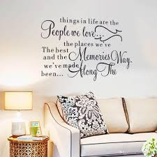 wall sticker fashionable classic modern english writing removable wall sticker fashionable classic modern english writing removable decals showcase home decor art background self adhesive multi pattern wall stickers for