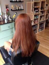 from faded golden blonde to rich dark auburn red hair color by