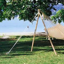 Free Standing Hammock Walmart by Cheap Black Lowes Hammock With Natural Green Grass For Exciting