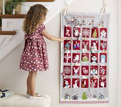 quilted advent calendar pottery barn kids
