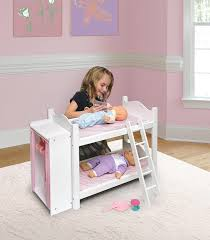 American Doll Bunk Bed Badger Basket Doll Bunk Beds With Ladder And Storage