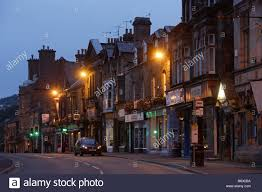 matlock town center typical houses victorian style derbyshire the