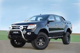 ranger ford lifted ford ranger black gallery moibibiki 4