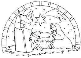 printable coloring pages nativity scenes manger scene coloring page scene of nativity coloring page precious