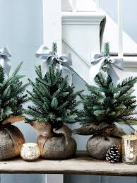 Mini White Christmas Tree Decorations by Best 25 Artificial Christmas Trees Ideas On Pinterest Christmas