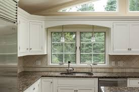 Traditional White Kitchens - updated kitchen with white u0026 dark cherry modern cabinets u2014 ackley