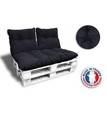 redresseur de canapé complet 3 coussins 1 assise 2 dossiers pour canape palettes