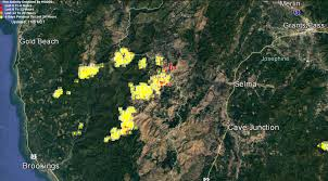 Map Of Brookings Oregon by Chetco Bar Fire Spreads To Josephine County U2013 Kobi Tv Nbc5 Koti