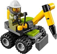 lego sports car volcano jackhammer lego city set 30350