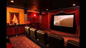 Home Theatre Interior Design Pictures by Creative Home Theater Room Design Youtube