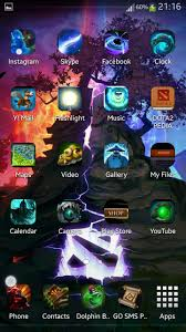 clock themes for android mobile dota 2 android theme completed dota2