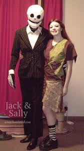 Sally Jack Halloween Costumes Couples Halloween Costumes